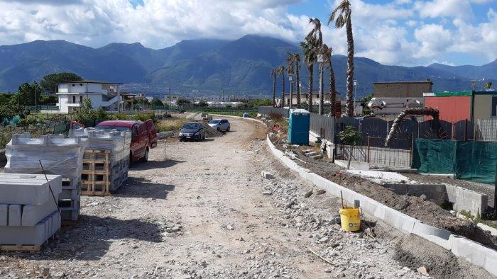 Riprendono i lavori per il ponte Rio Sguazzatoio tra Angri e San Marzano