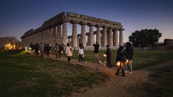 Il 21 giugno torna al parco archeologico di Paestum la festa della musica