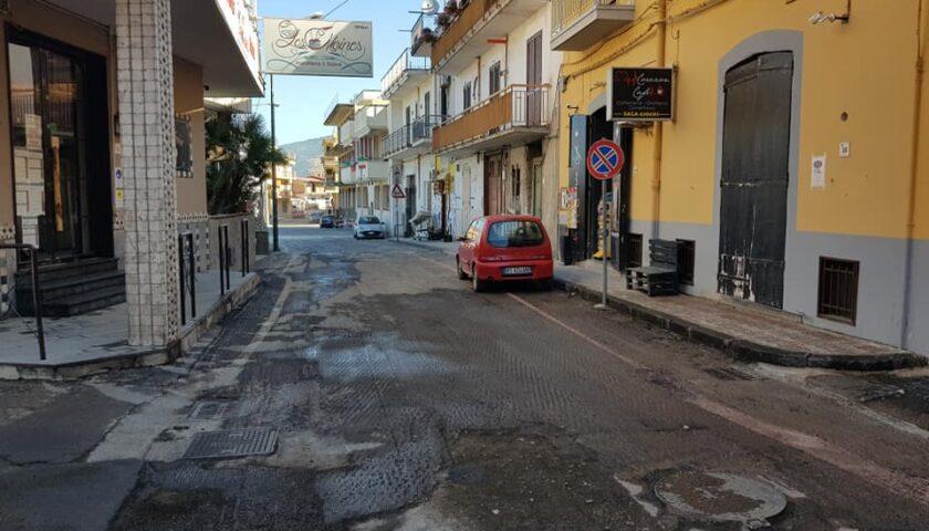 Covid, a San Valentino Torio strade sanificate