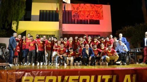 Castellabate festeggia la storica promozione in D della Polisportiva Santa Maria