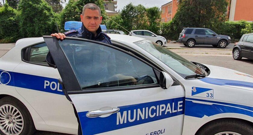 Sigismondo Lettieri capo dei vigili urbani di Eboli, ieri la nomina del sindaco Cariello
