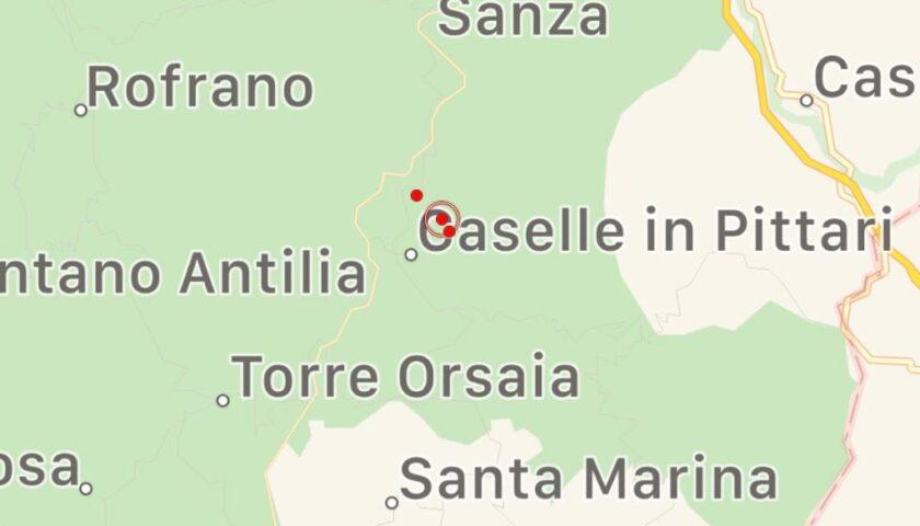 Tre scosse di terremoto in provincia di Salerno, la prima avvertita anche dalla popolazione