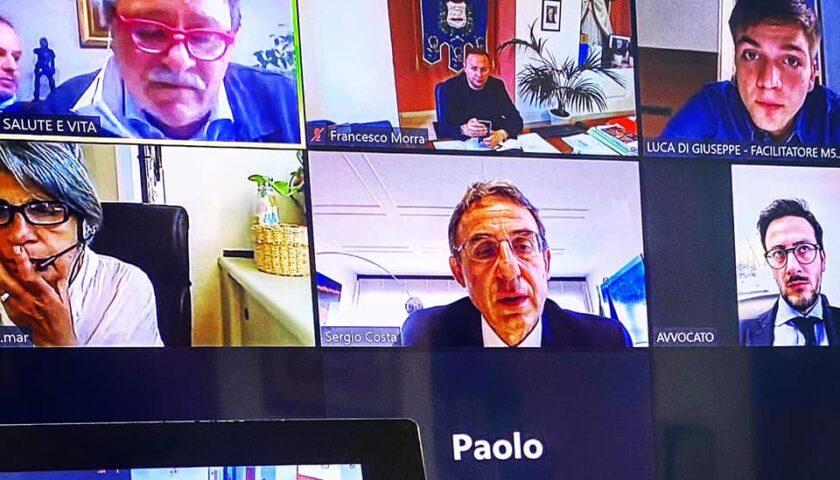 Fonderie Pisano, video conferenza del Sindaco di Pellezzano Morra con il Ministro Costa