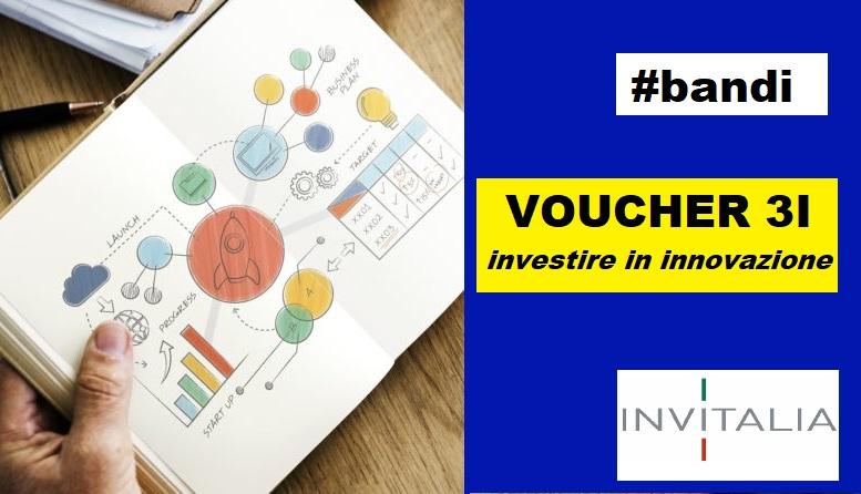 Voucher 3i-Investire in innovazione: domande dal 15 giugno tramite piattaforma Invitalia