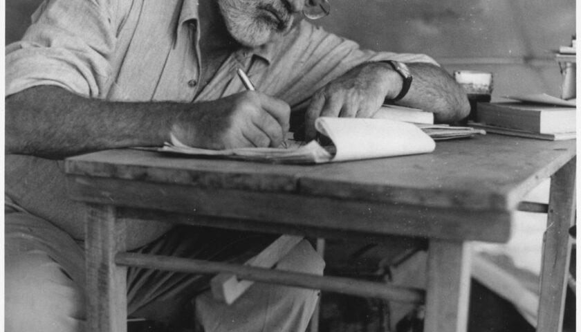 Accadde oggi: il 2 luglio 1961 muore suicida Ernest Hemingway
