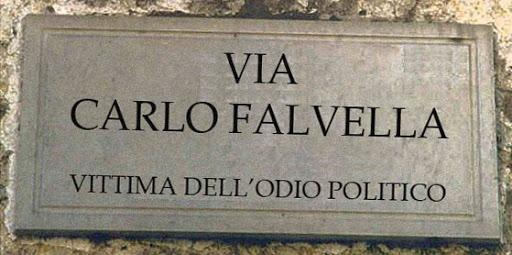 Gioventù Nazionale/Fratelli d'Italia domani ricorda Carlo Falvella, ucciso 48 anni fa in via Velia