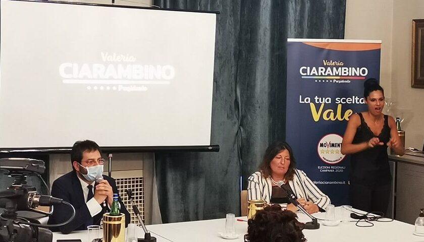 """Salerno, Ciarambino si presenta: """"Lavoreremo per occupare veramente 50mila campani nella pubblica amministrazione"""""""