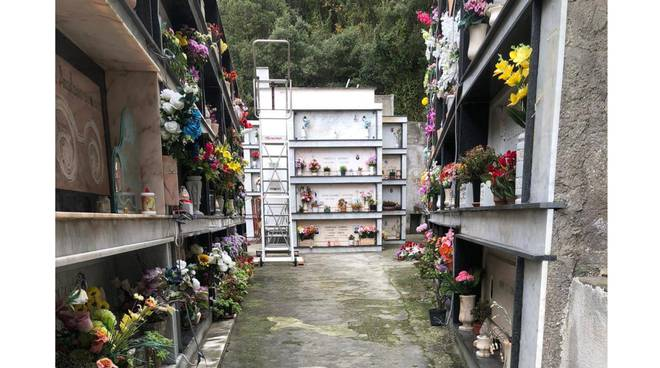 Amalfi, riaperto il cimitero di Vettica dopo i lavori