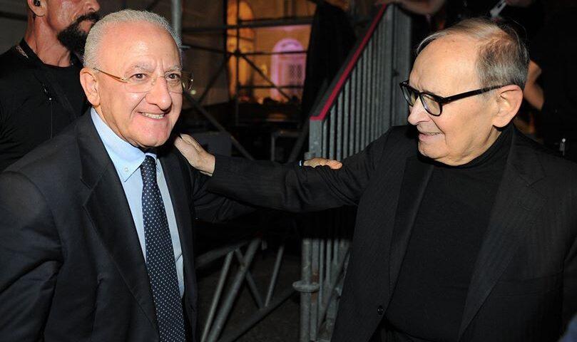 """Addio a Morricone, De Luca: """"La sua musica è stata la colonna sonora della nostra vita"""""""