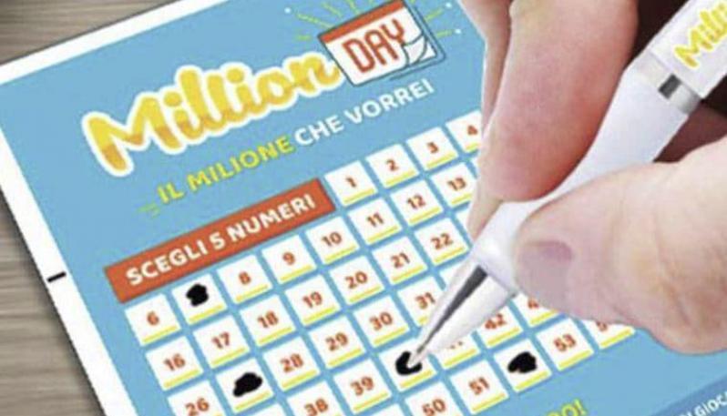 Milion Day, la fortuna bacia Vallo della Lucania: vinto un milione di euro