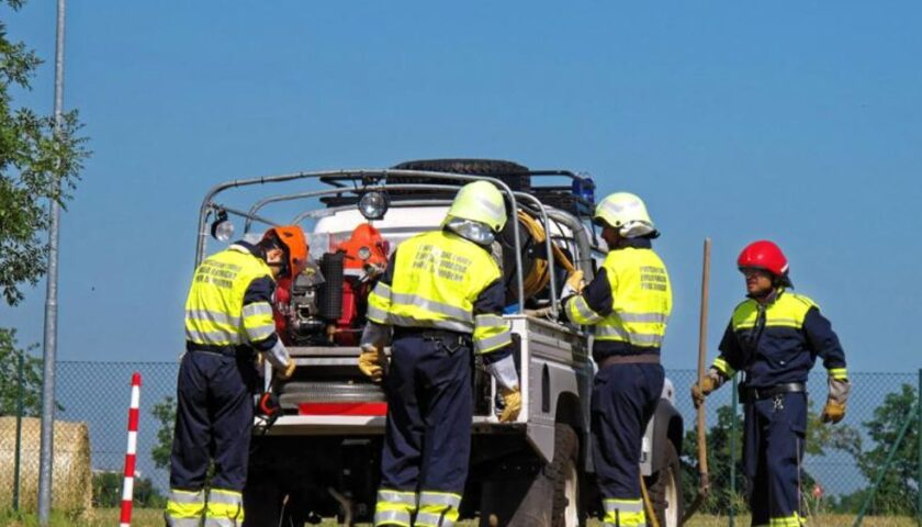 A Baronissi attivato il servizio di avvistamento incendi boschivi