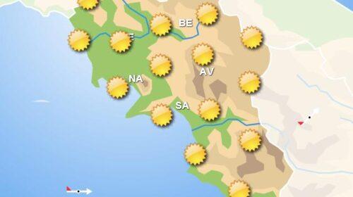 Meteo, domani al sud tempo soleggiato con diminuzione delle temperature