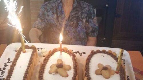 Roccapiemonte, il Covid19 non la ferma: Nannina spegne 100 candeline e si tessera con la Uil