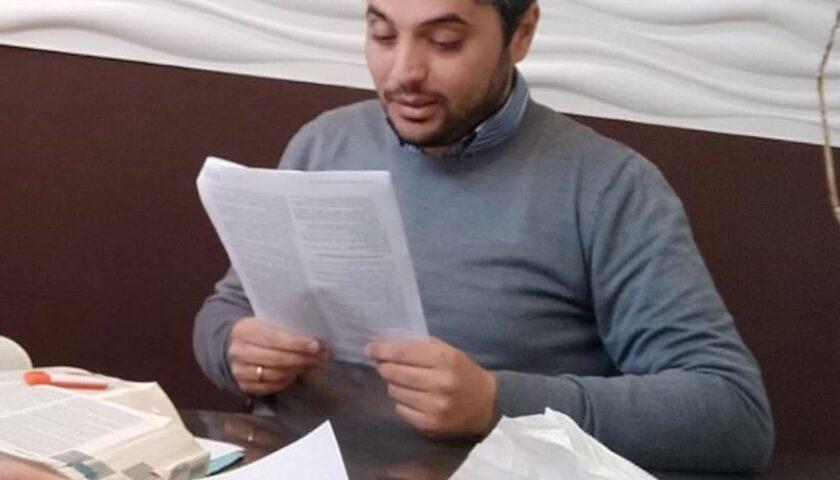 Pagani, si dimette il coordinatore cittadino del Pd Davide Nitto