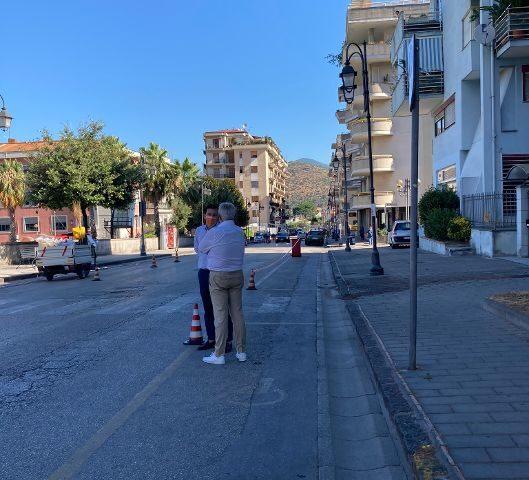 Da stamane start lavori di sistemazione delle strade cittadine da corso Matteotti a Nocera Superiore