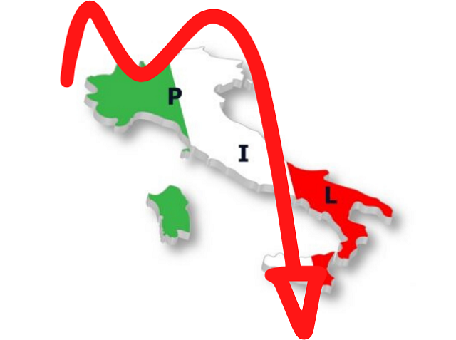 Il Pil 2020 in Italia scenderà a -11,2%, il peggior calo dell'Unione Europea