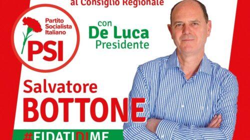 """L'ex sindaco di Pagani Salvatore Bottone candidato alla Regione con il Psi: """"Porterò la mia esperienza di amministratore"""""""