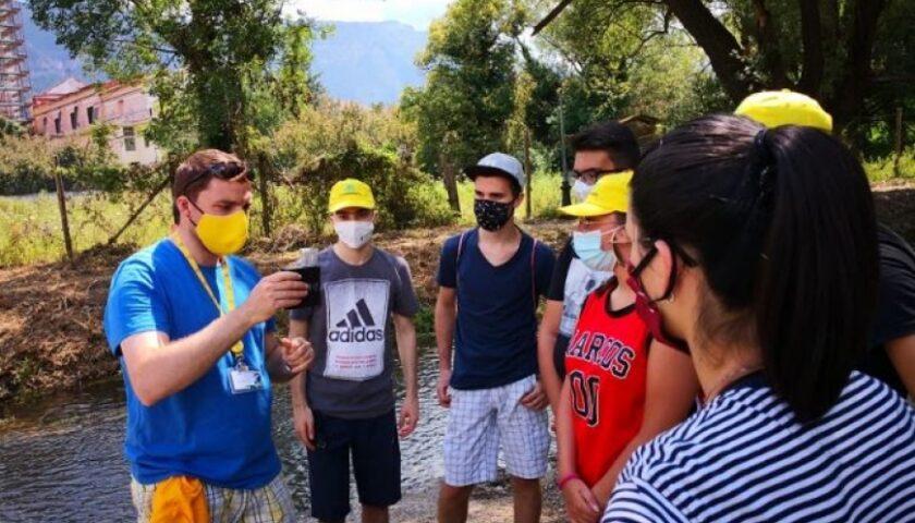 Giovani volontari di Legambiente per valorizzare il territorio di Sarno