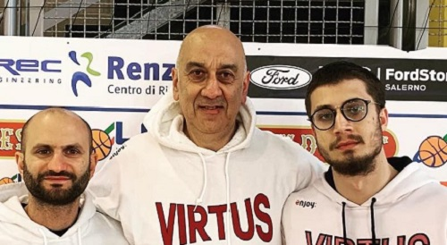 Virtus Arechi Salerno, confermati Caccavo e Amato come assistenti in Serie B