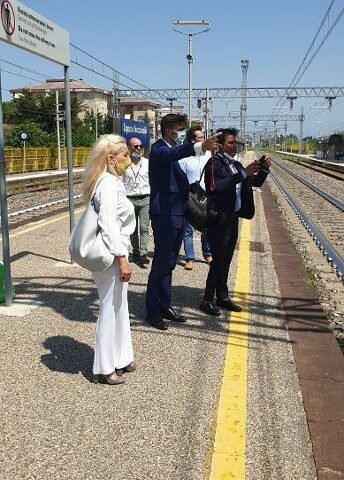 Restyling stazione ferroviaria Capaccio-Roccadaspide: l'Ok di Rete Ferroviaria Italiana