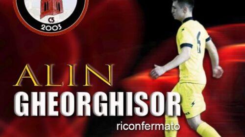 Alin Gheorghisor rinnova il contratto con l'Alma Salerno