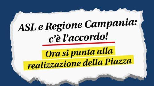 Angri – dopo 9 anni raggiunto accordo tra Asl e Regione Campania per la realizzazione di una nuova piazza