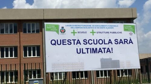 Angri – stanziati altri 250.000€ per i lavori di completamento del terzo circolo didattico