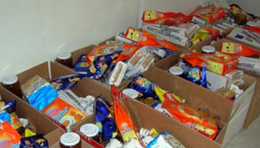 Amalfi, alimenti per le famiglie bisognose