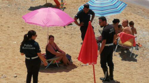 Castellabate Sicura, polizia municipale e volontari in azione lungo il litorale