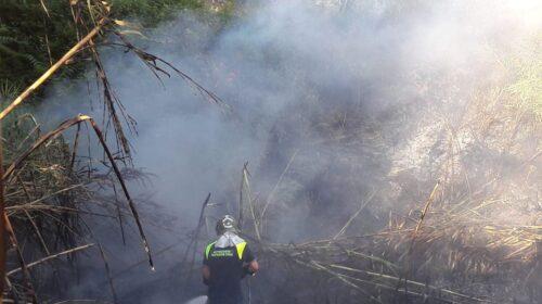 Incendio a Capezzano – multato un contadino del posto