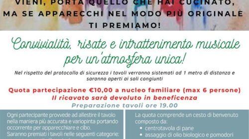 """Questa sera a Pontecagnano ci sarà la prima edizione di """"cena in quartiere"""""""