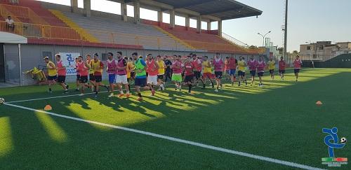 EQUIPE CAMPANIA AIC Gruppo Angri Salerno: Inizia la seconda settimana di pre-ritiro con 41 atleti in campo