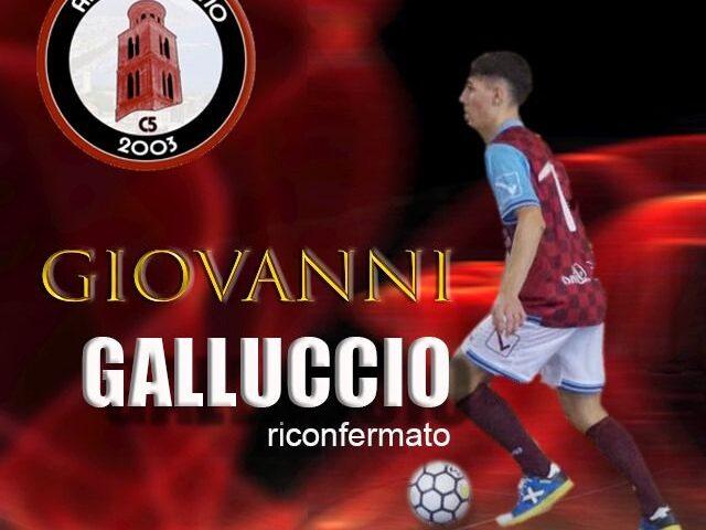 Alma Salerno, Giovanni Galluccio resta in granata