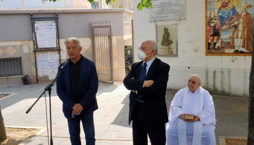 Salerno, al via i lavori per il sagrato della Chiesa di Santa Maria a Mare a Mercatello