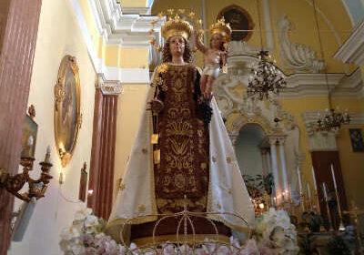 Torna domani a Salerno l'alzata del Panno per la Madonna del Carmine