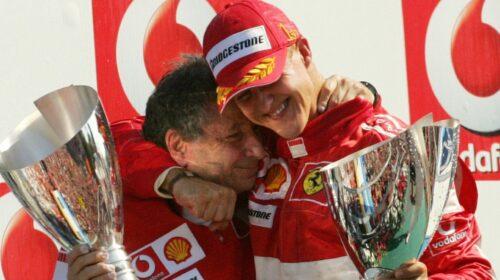 """Jean Todt: """"Speranze per Schumacher, presto lo rivedremo con noi"""""""