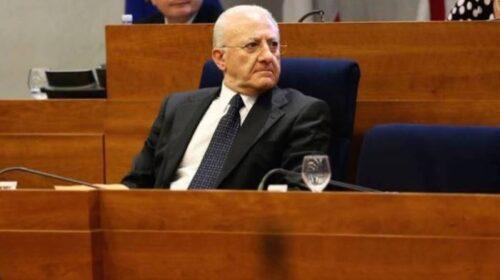 """De Luca: """"In Campania arriverà il vaccino per il tumore entro 3/5 anni"""""""