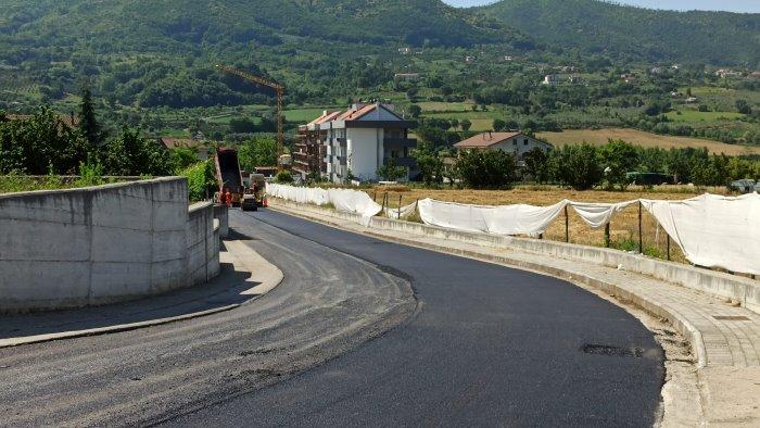 Completati i lavori stradali a Giffoni Valle Piana