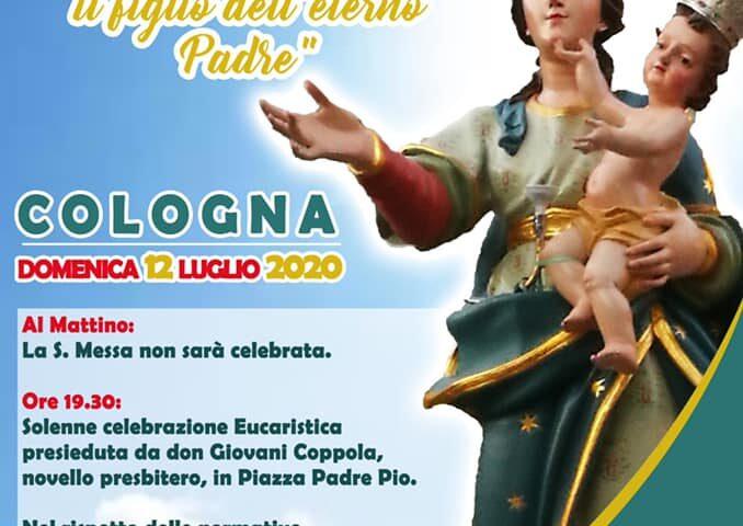 Domenica si festeggia la Madonna della Neve a Cologna di Pellezzano con l'alzata del panno