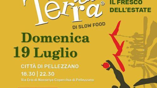 """MERCATO DELLA TERRA: DOMENICA 19 LUGLIO """"SLOW FOOD COMUNITÀ DELLA VALLE DELL'IRNO"""" RIPARTE CON IL SECONDO APPUNTAMENTO ALLA FRAZIONE COPERCHIA DI PELLEZZANO"""