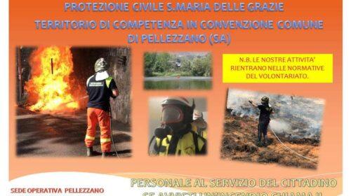 Pellezzano – Attivato il servizio antincendio boschivo per il rischio interfaccia