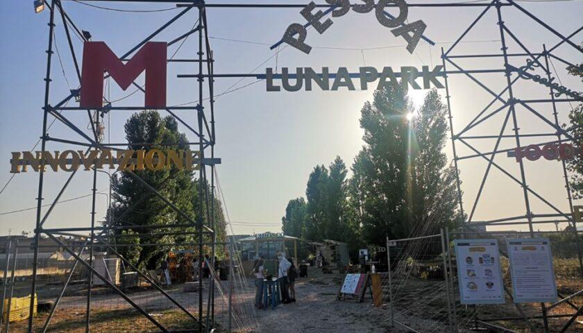 La soddisfazione del sindaco di Angri, Cosimo Ferraioli per l'inaugurazione del Possoa Luna Park