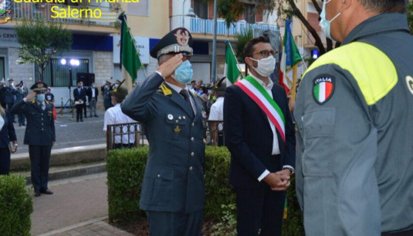 Pontecagnano, Guardia di Finanza e Comune hanno ricordato il finanziere Daniele Zoccola
