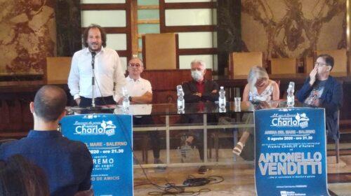 Da Sannino a Venditti, presentata  l'edizione 2020 dello Charlot