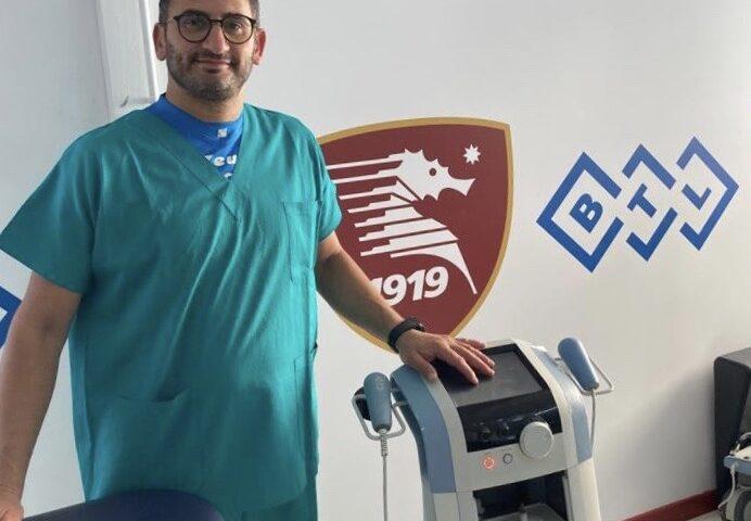 Salernitana, Agostino Santaniello nuovo fisioterapista chiropratico granata