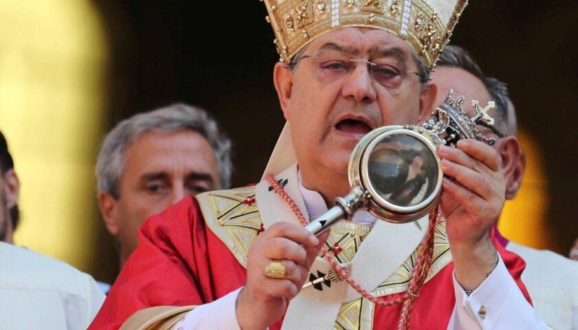 Il cardinale Crescenzio Sepe positivo al coronavirus