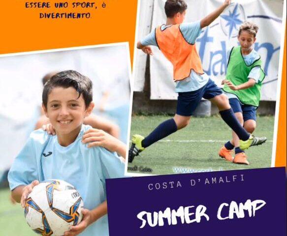Maiori – dal 6 luglio ripartirà il Summer Calcio Camp