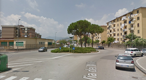 Taglio del nastro per i lavori della nuova rotatoria in via Dei Mille a Salerno