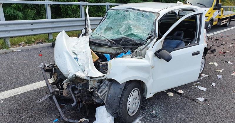 Incidente tra Padula e Lagonegro, automobilista grave