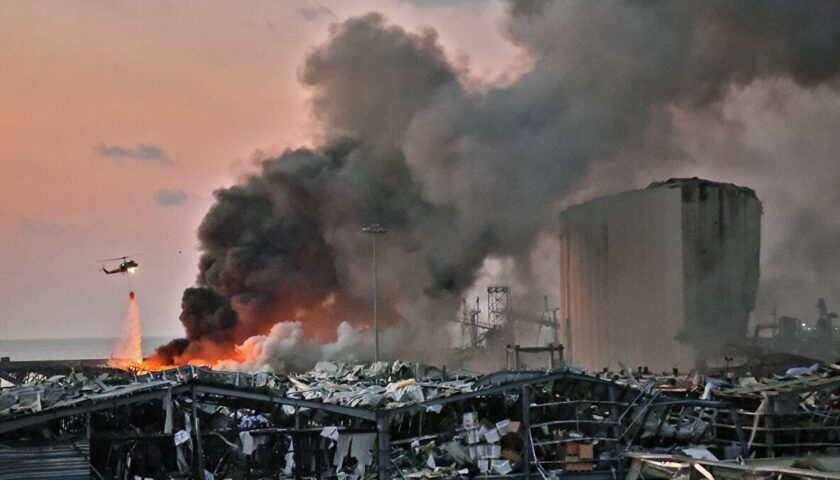 Esplosione a Beirut, la Caritas Salerno al fianco della capitale libanese